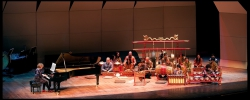 Performing Lou Harrison's concerto with Sumarsam & Wesleyan Gamelan, George Washington University, DC, March 2011