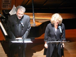 Performing the Ur Sonata with Martin in Merkin Hall, Oct 08