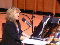 """Musically Speaking"" program, Merkin Hall Oct 08"
