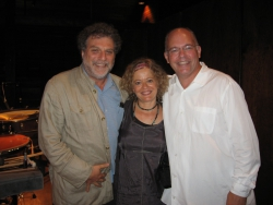Lisa with Martin Bresnick and Robert van Sice at Norfolk Festival