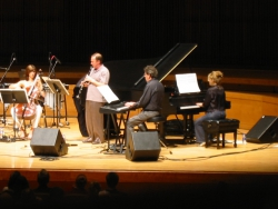 Performing with Philip Glass and the All-Stars