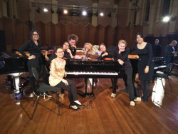 Australian National Academy of Music Band of Grand Pianos May 2019