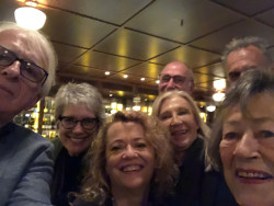 Group Selfie @ Felix, post Sydney SO recital with BFF's Gerard, Jocelyn & Bruce, Lynne & Phil, and Mum