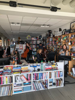 W Ensemble Signal, playing Jonny Greenwood, Tiny Desk